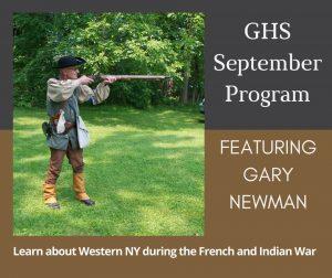 September Program with Gary Newman