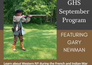 Thumbnail for the post titled: September Program with Gary Newman
