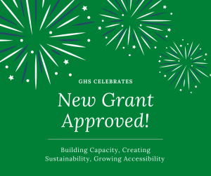 New Grant Approved!